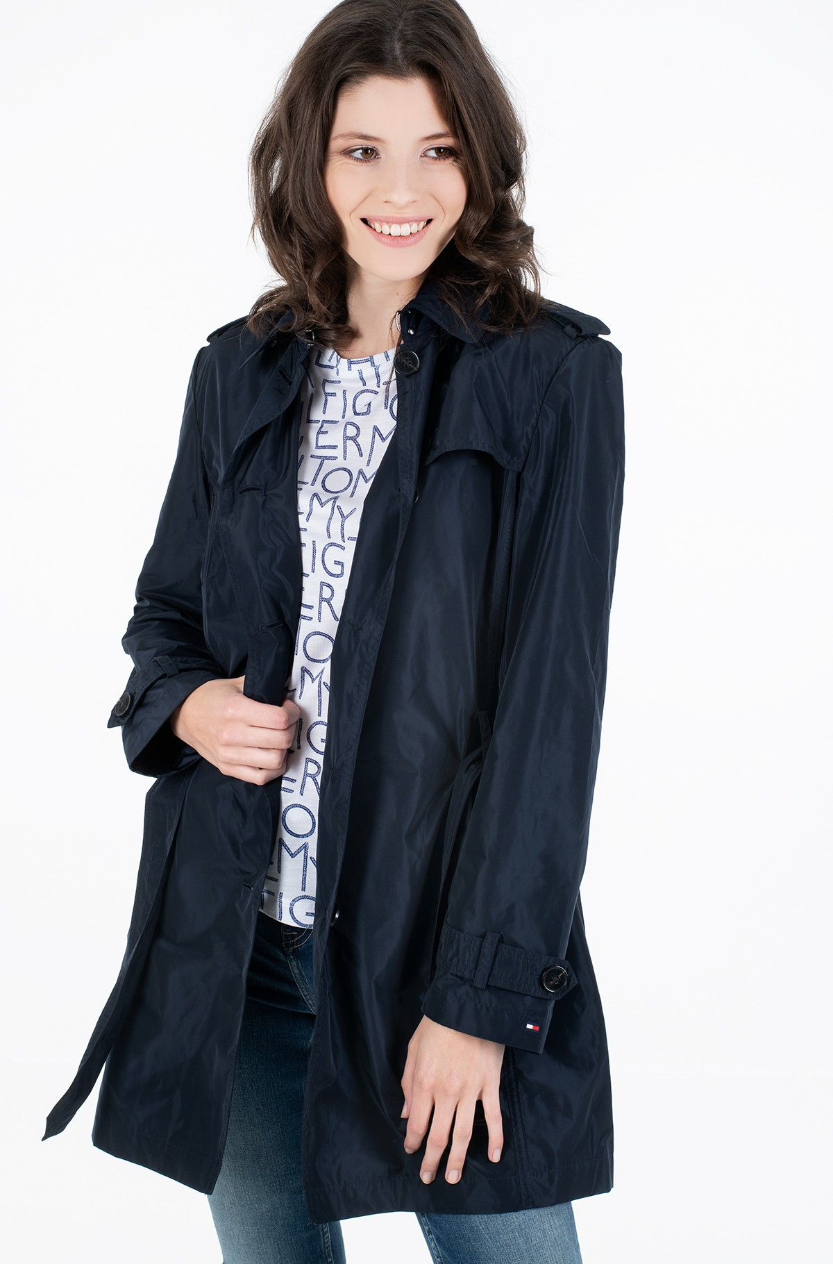 Pea coat CORY PACKABLE SB TRENCH-full-1