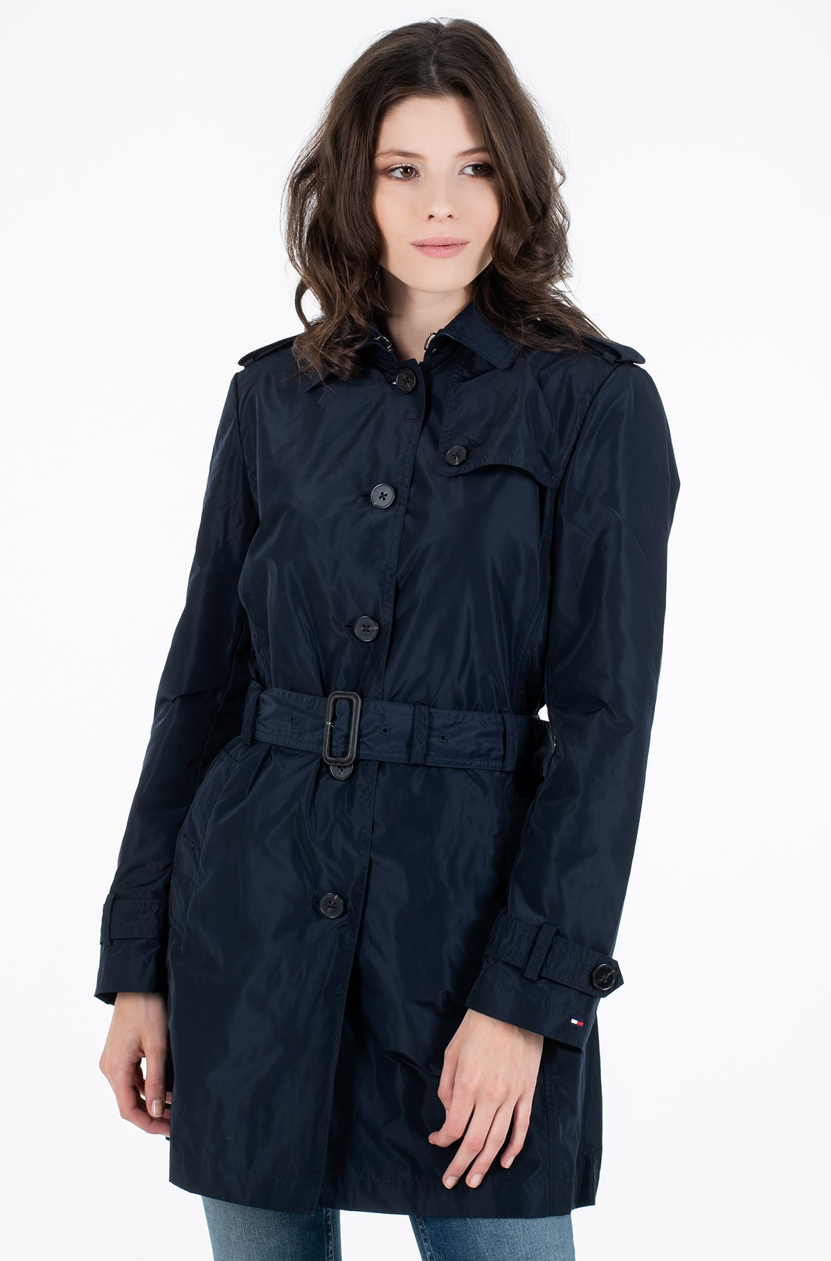 Pea coat CORY PACKABLE SB TRENCH-full-2