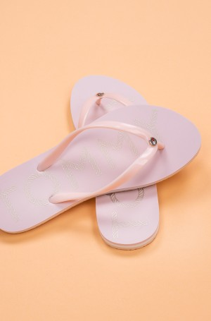Plätud TOMMY FOOTBED FLAT BEACH SANDAL-1