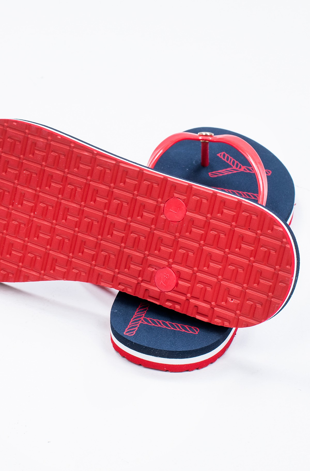 Flip-flops TOMMY FOOTBED FLAT BEACH SANDAL-full-2