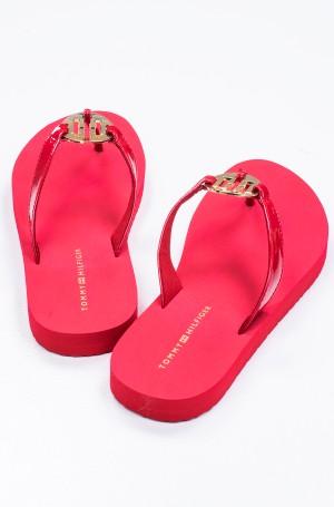Flip-flops FEMININE PATENT BEACH SANDAL-3