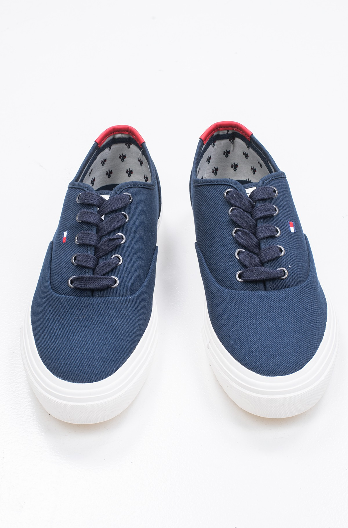 Tennised CORE OXFORD TWILL SNEAKER	-full-1
