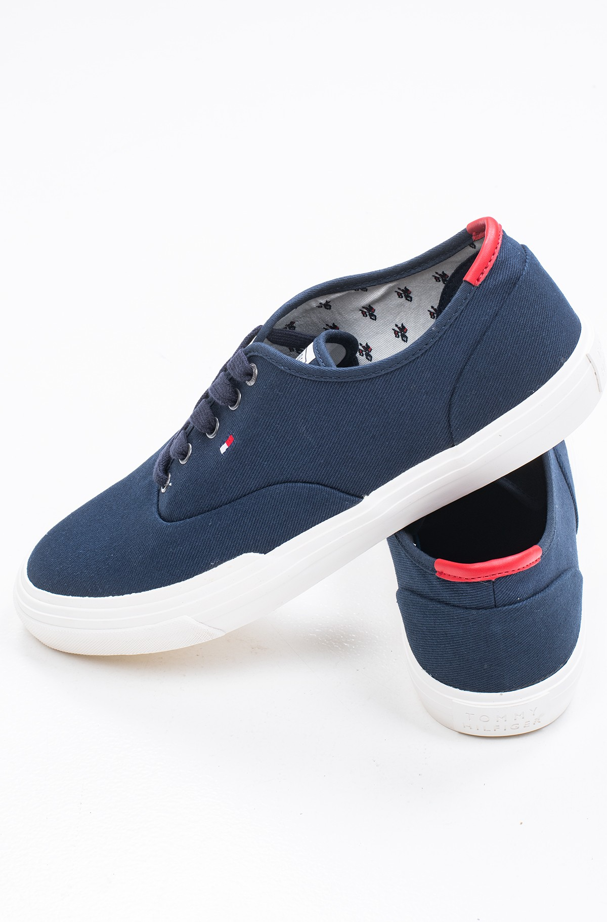 Tennised CORE OXFORD TWILL SNEAKER	-full-2