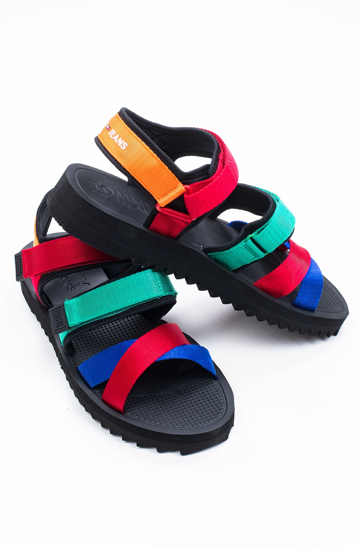 Sandaalid TOMMY JEANS LOGO STRAP SANDAL-full-1