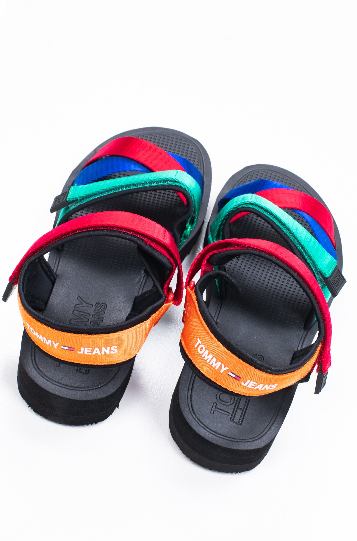Sandaalid TOMMY JEANS LOGO STRAP SANDAL-full-3