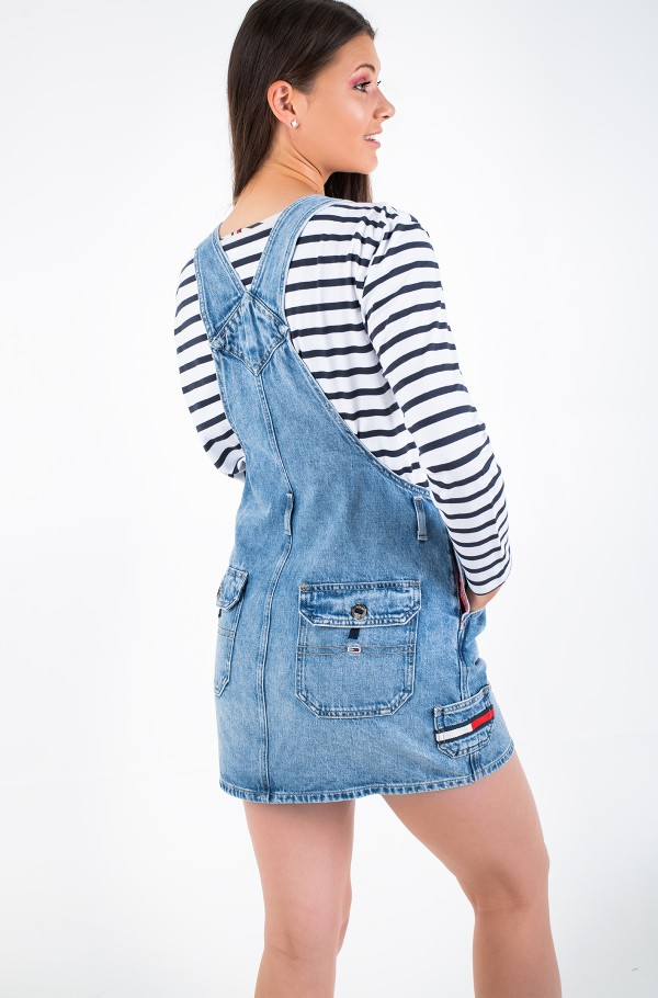 DUNGAREE DRESS CRLT-hover