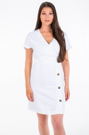 Kleit LINEN TENCEL SS DRESS	-1