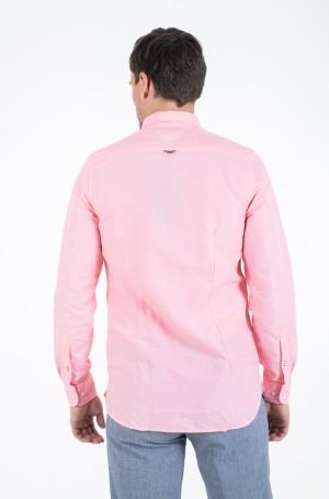 Krekls SLIM MELANGE COTTON LINEN SHIRT-2