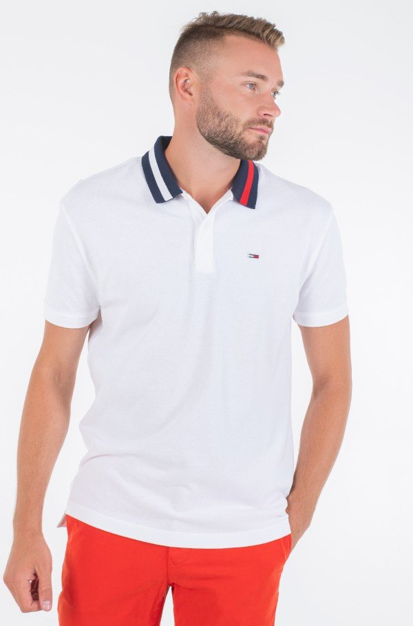 TJM FLAG NECK POLO