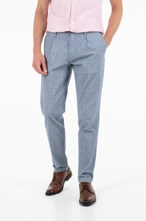 Fabric trousers TAPERED CHINO SEERSUCKER CHECK-1