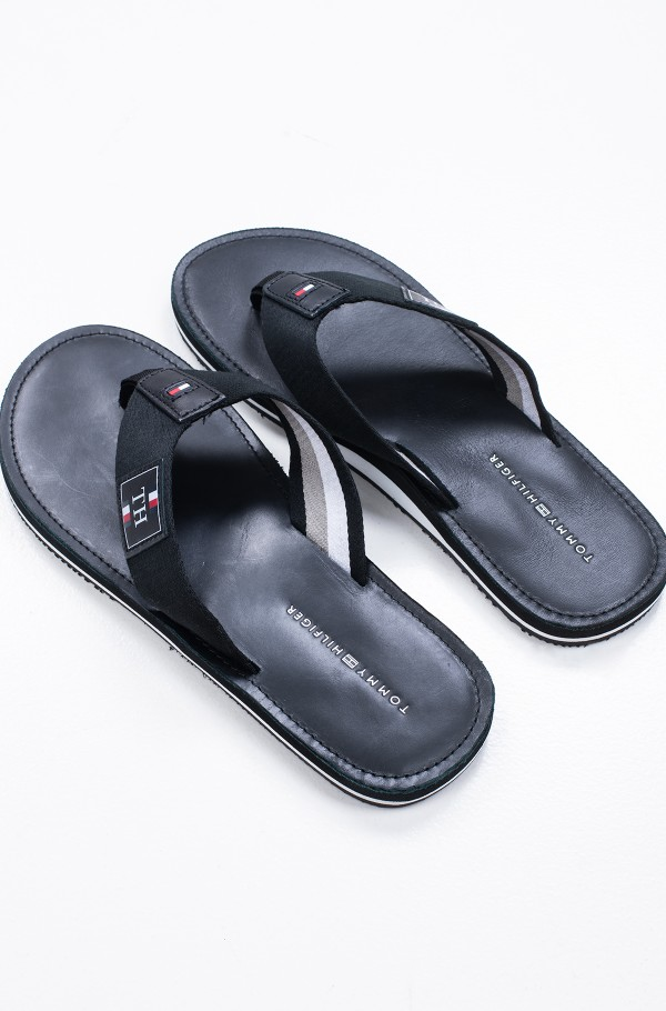 ELEVATED TH LEATHER BEACH SANDAL-hover