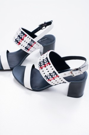 Shoes TOMMY INTERWOVEN MID HEEL SANDAL-2