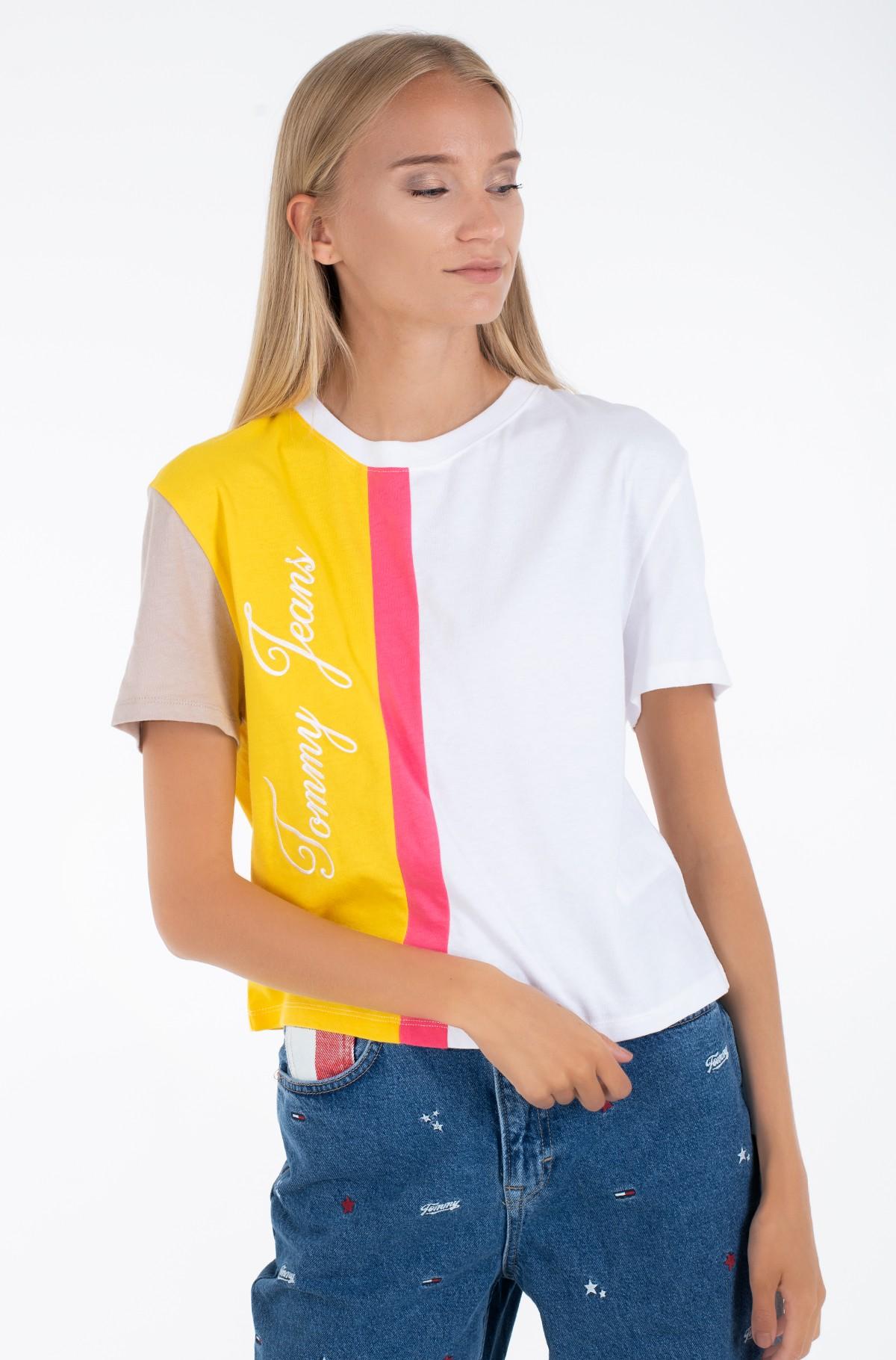 Marškinėliai TJW COLORBLOCK LOGO TEE-full-1