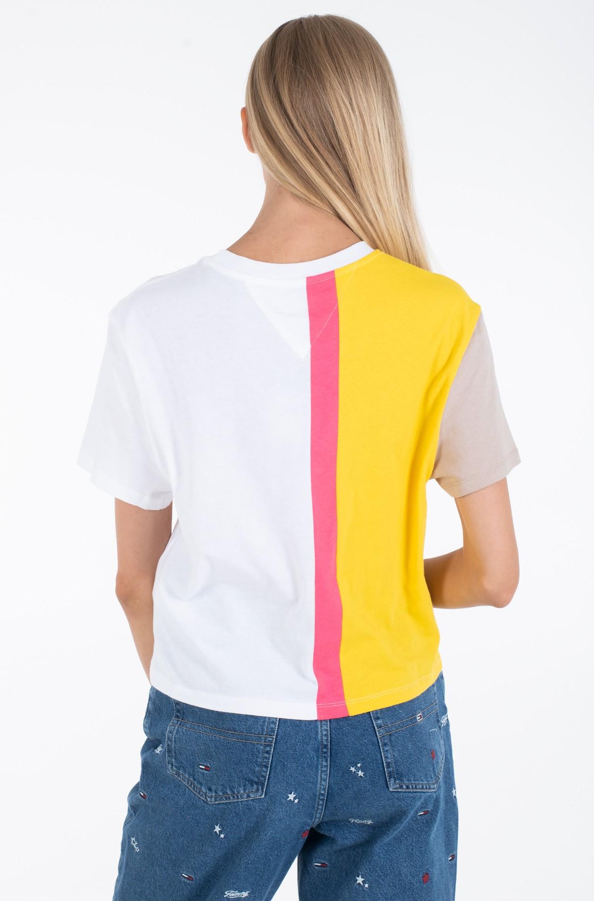 Marškinėliai TJW COLORBLOCK LOGO TEE-full-2