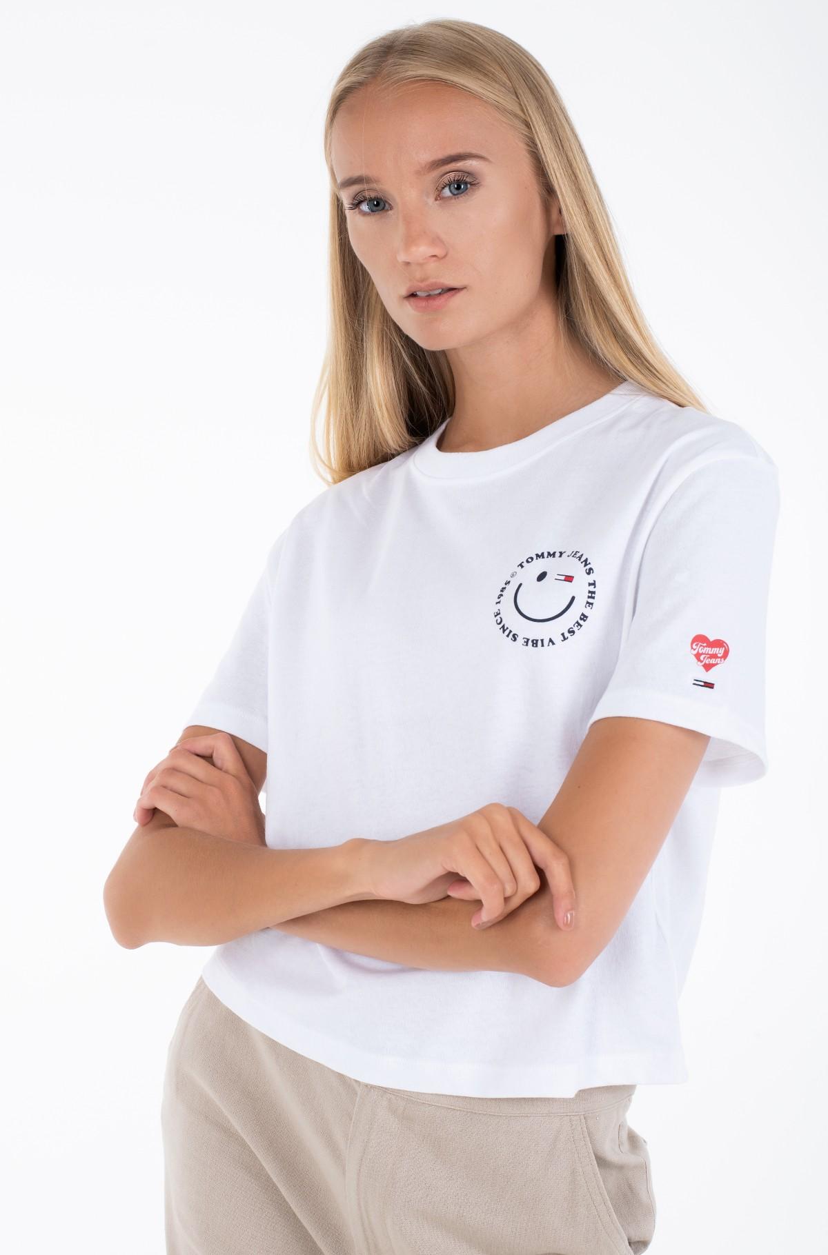 Marškinėliai TJW SUMMER SMILEY BACK TEE-full-1