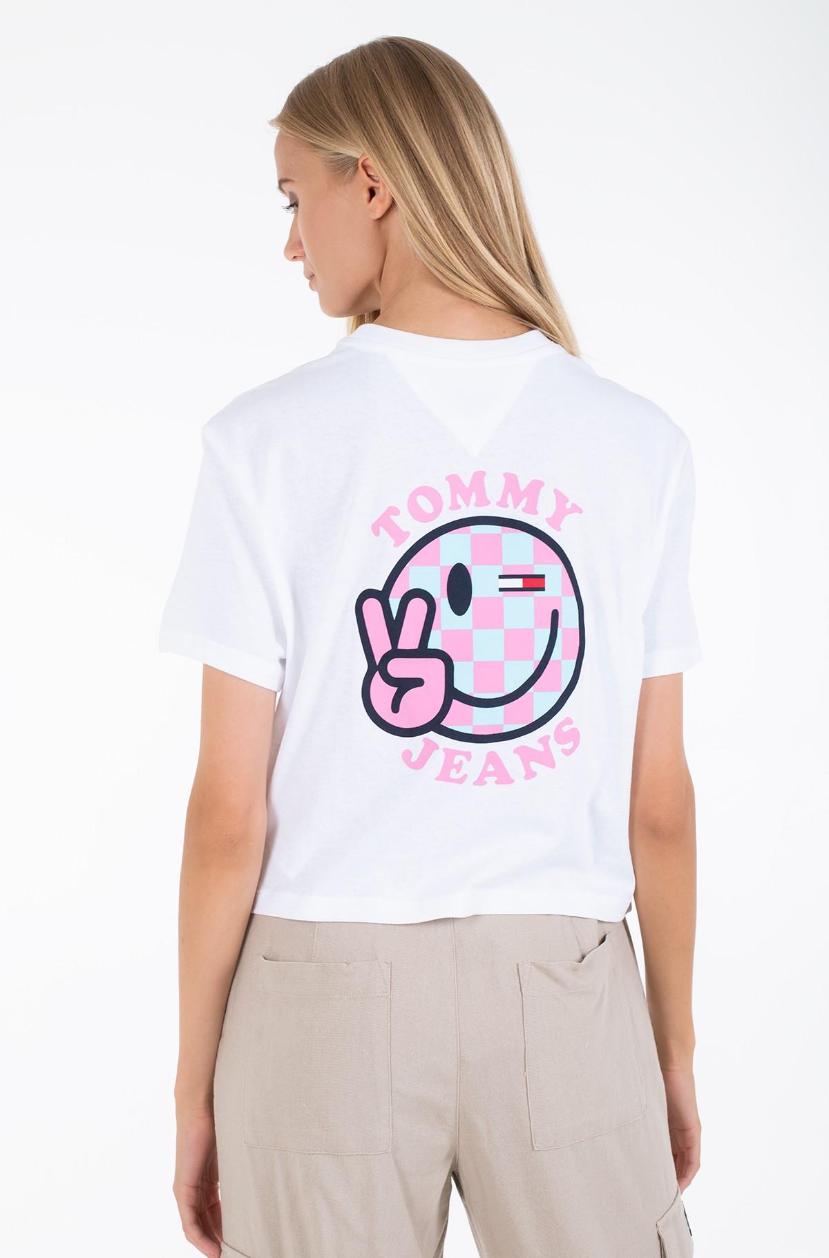 Marškinėliai TJW SUMMER SMILEY BACK TEE-full-2