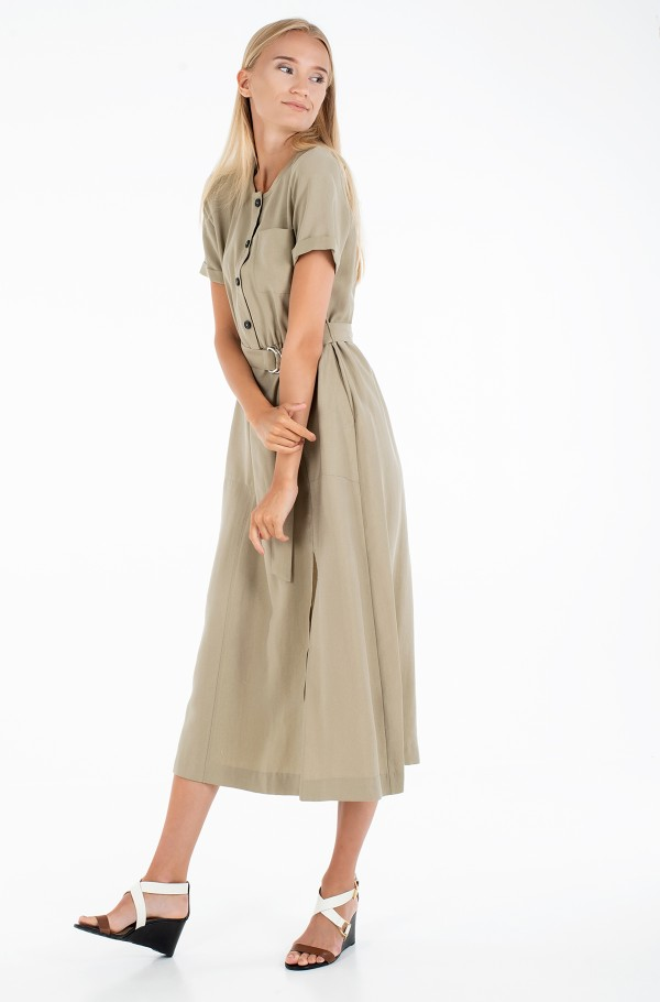 TENCEL TWILL DRESS SS-hover
