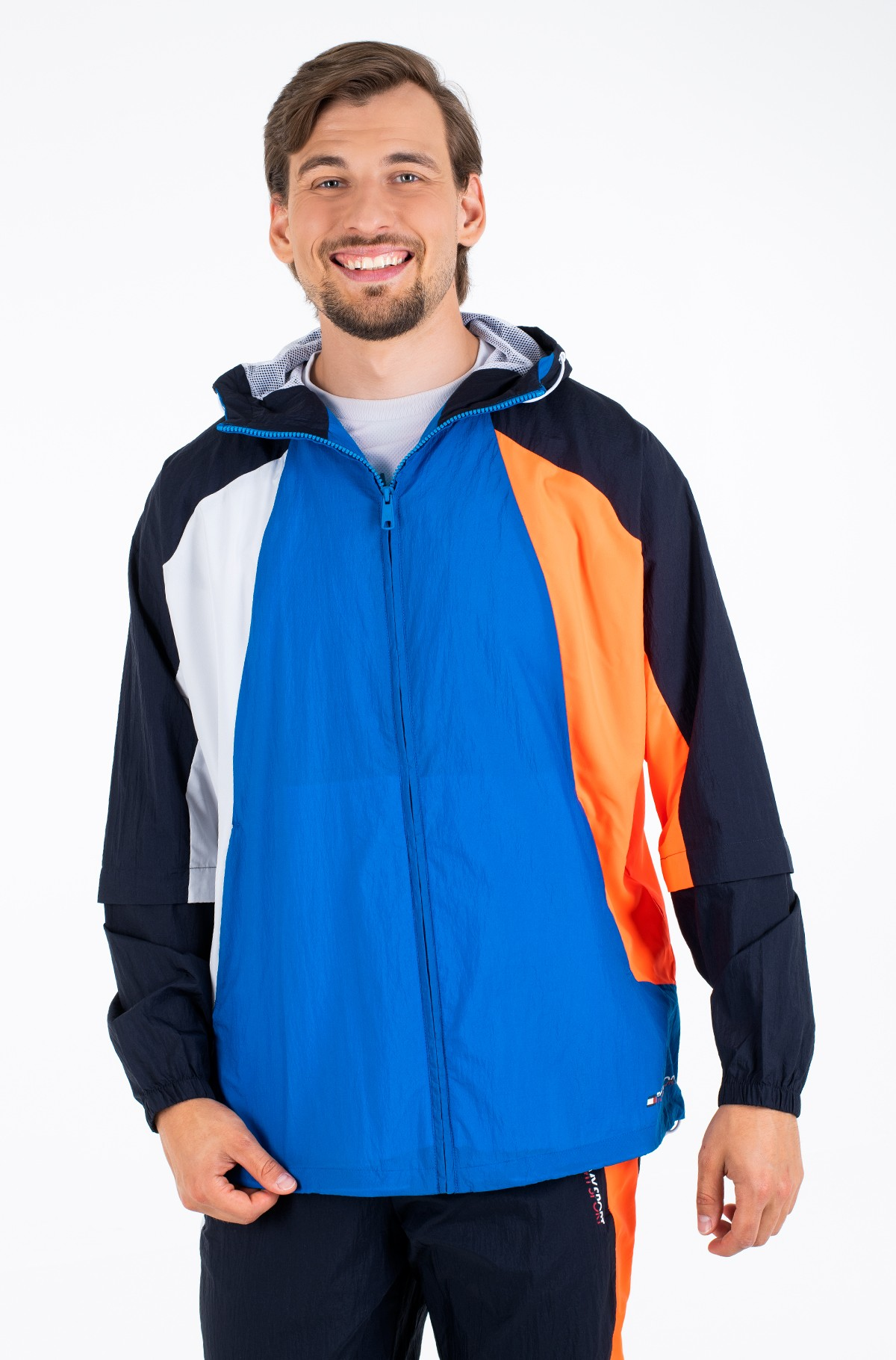 Viegla jaka  BLOCKED WINDBREAKER-full-2
