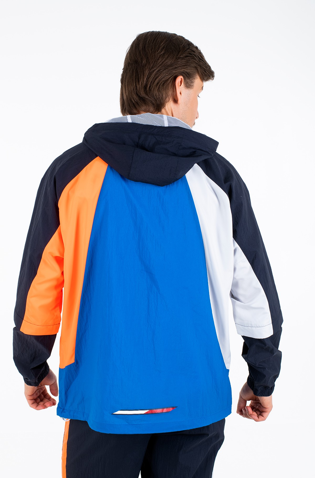 Viegla jaka  BLOCKED WINDBREAKER-full-3