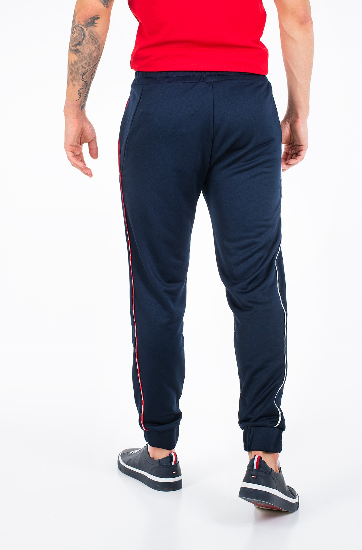 Sports pants PIPING TRACKSUIT CUFFED PANT-full-2