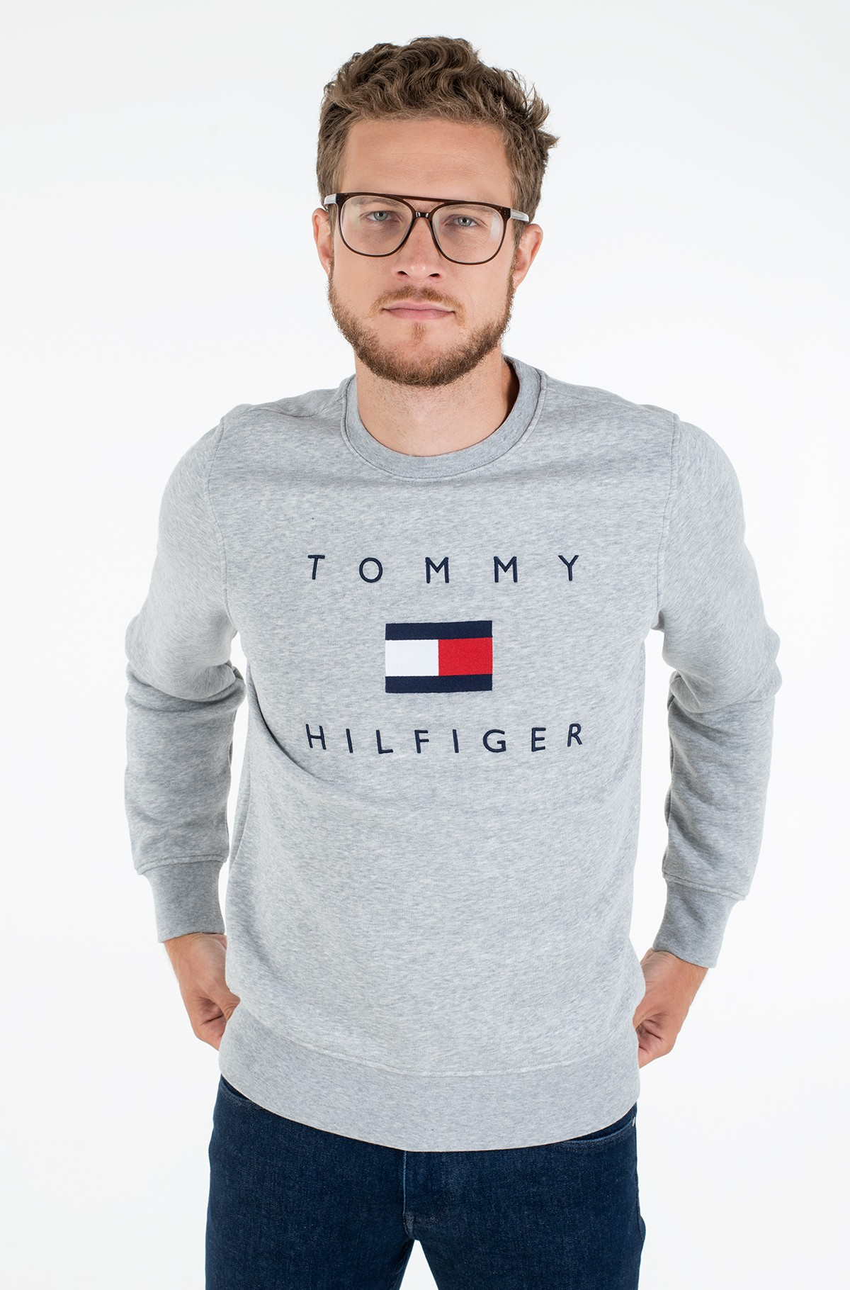 Dressipluus TOMMY FLAG HILFIGER SWEATSHIRT-full-1