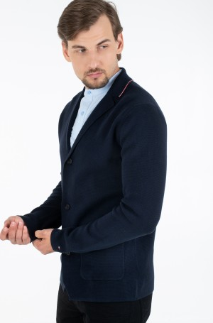 Kardiganas TIPPED SINGLE BREASTED BLAZER-1
