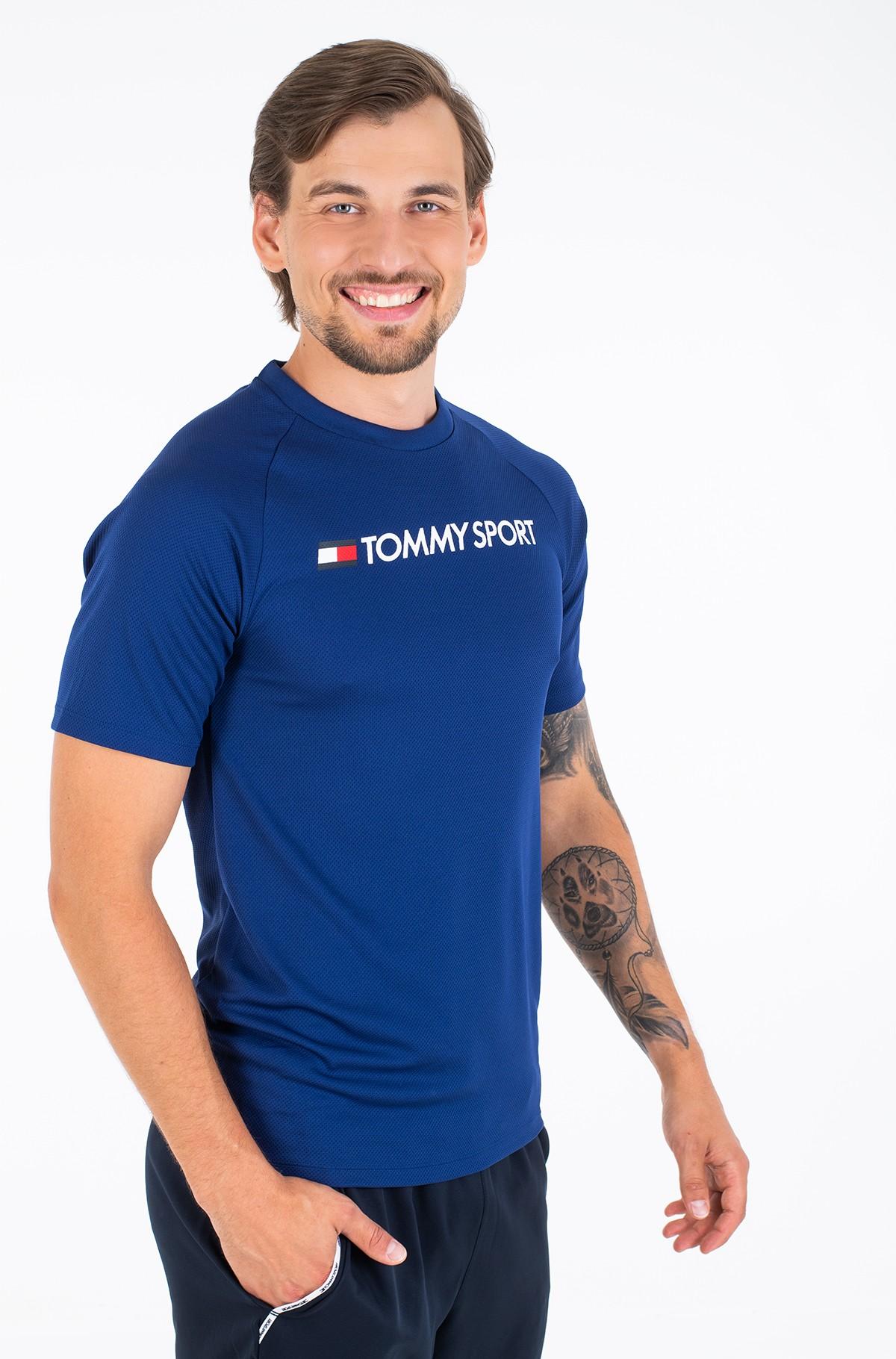 Sportiniai marškinėliai TRAINING TOP MESH BACK LOGO-full-2