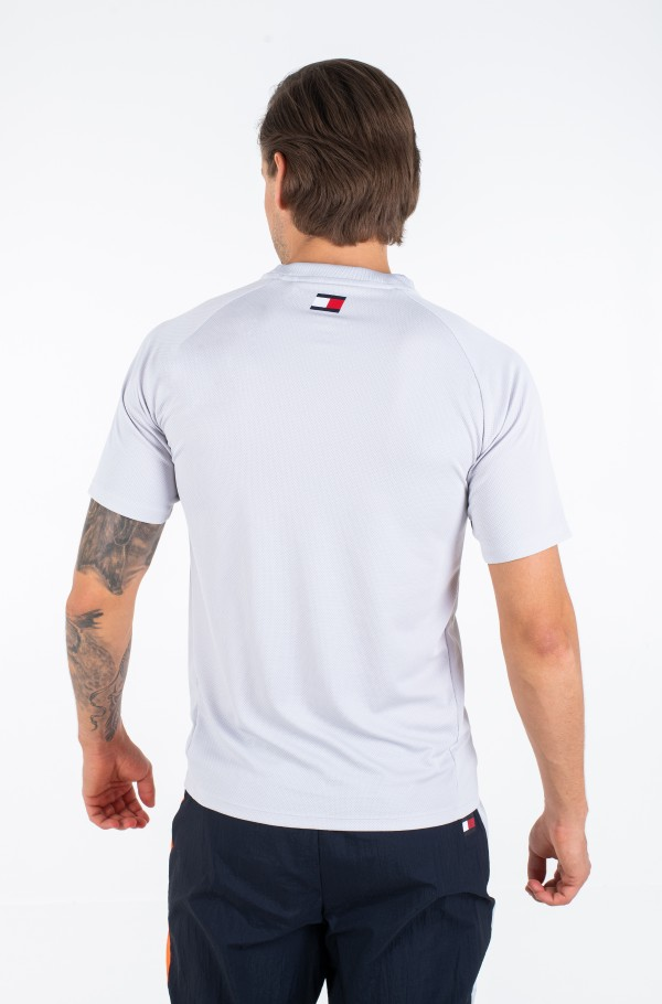 TRAINING TOP MESH BACK LOGO-hover