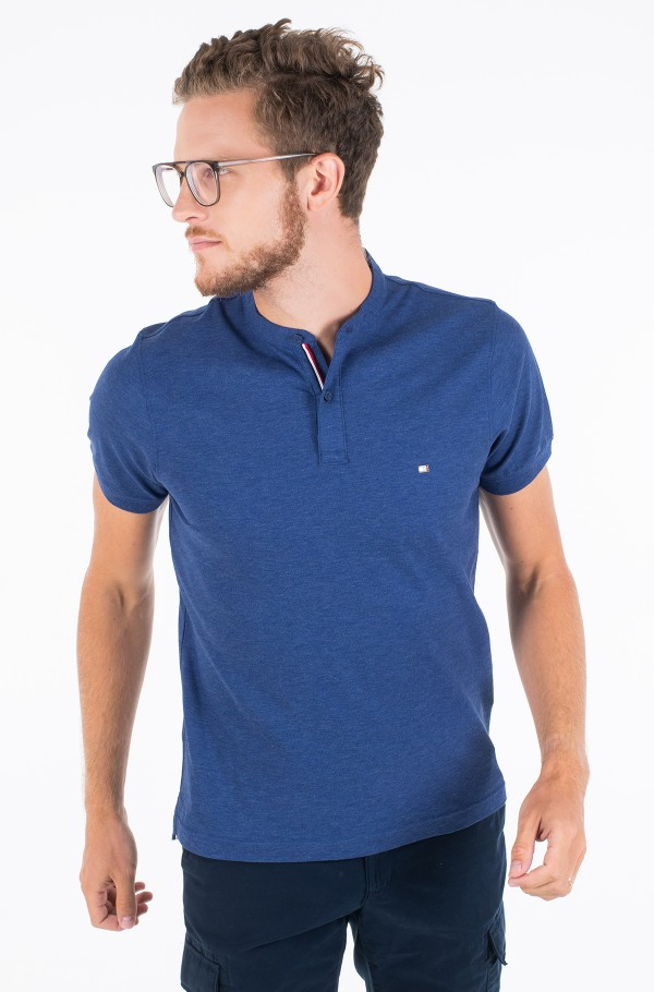 LUXURY STRETCH MAO SLIM POLO