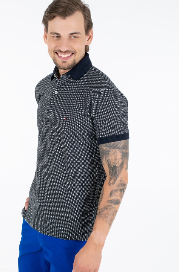 MICRO PRINT REGULAR POLO