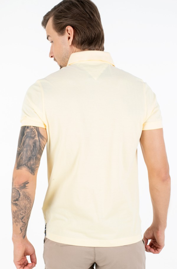 PRINTED PLACKET SLIM POLO-hover