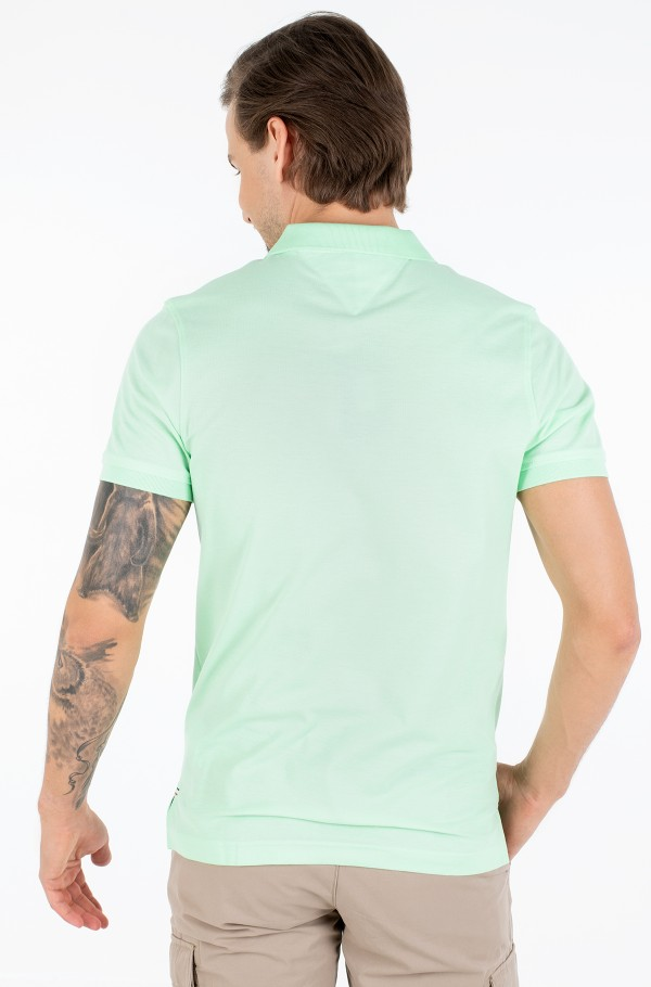 LUXURY STRETCH SLIM POLO-hover