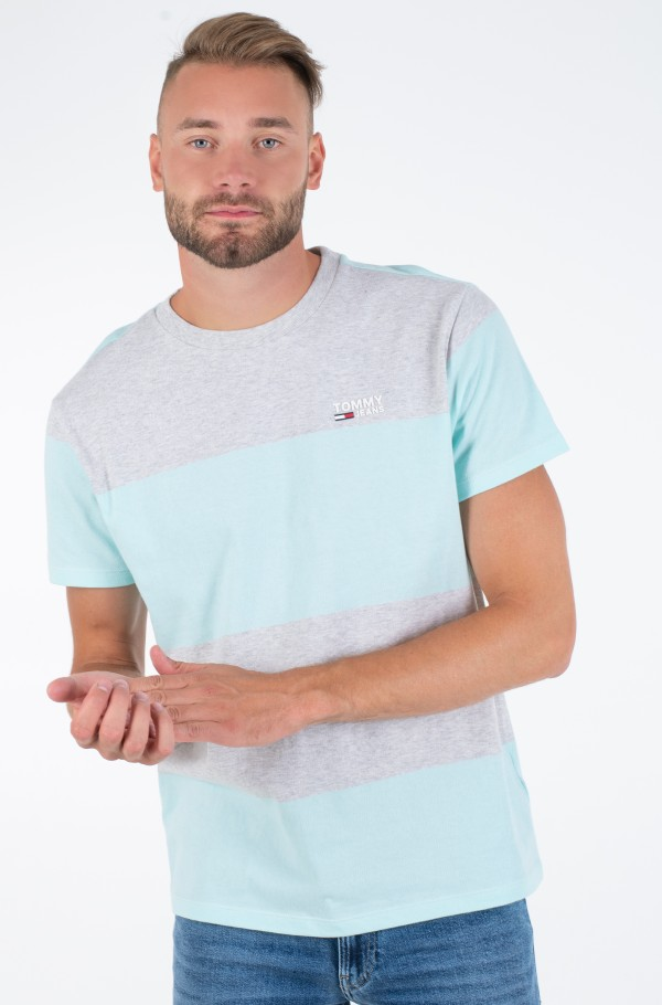 TJM COLORBLOCK STRIPE TEE