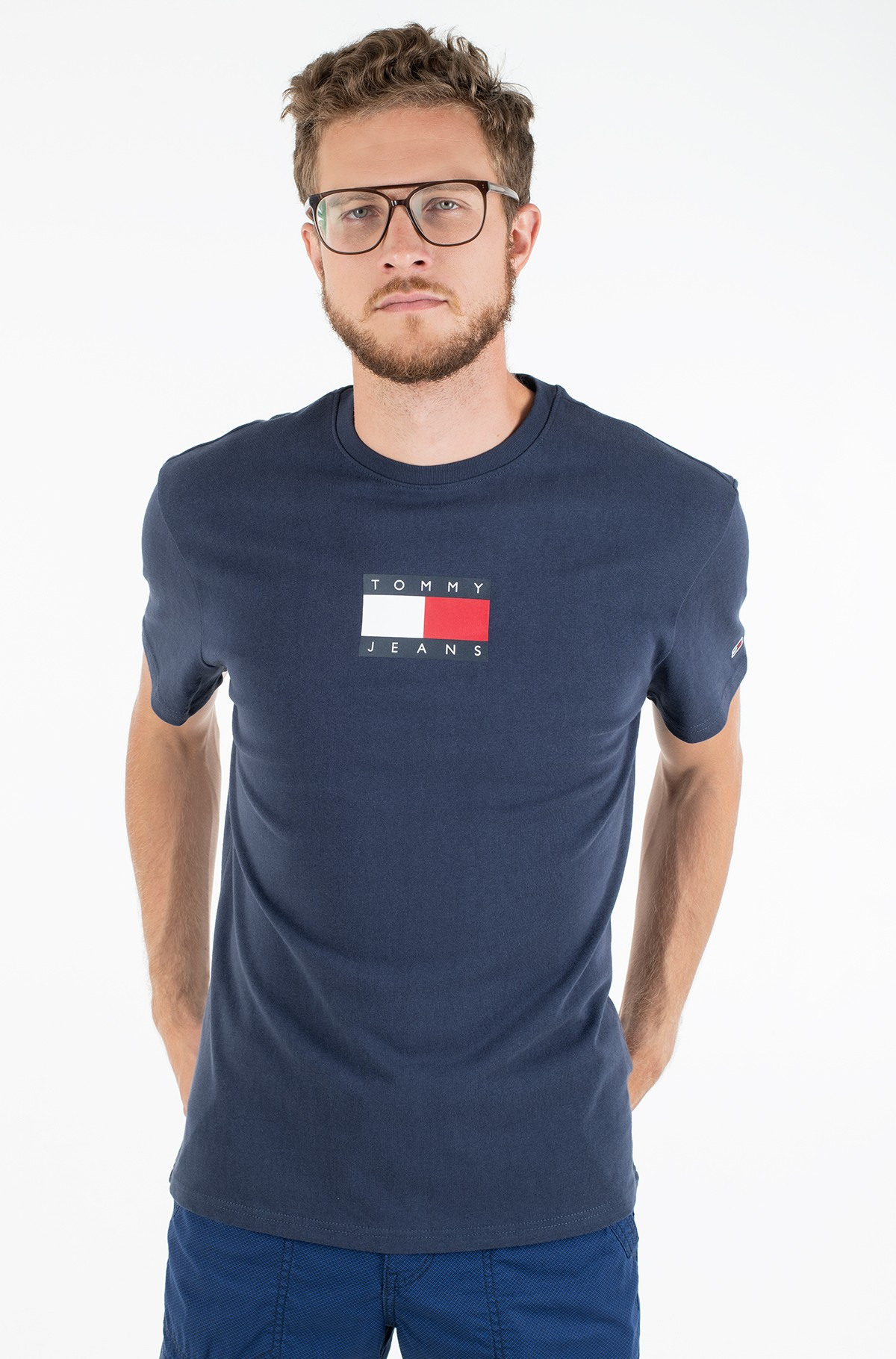 T-shirt TJM SMALL FLAG TEE	-full-1