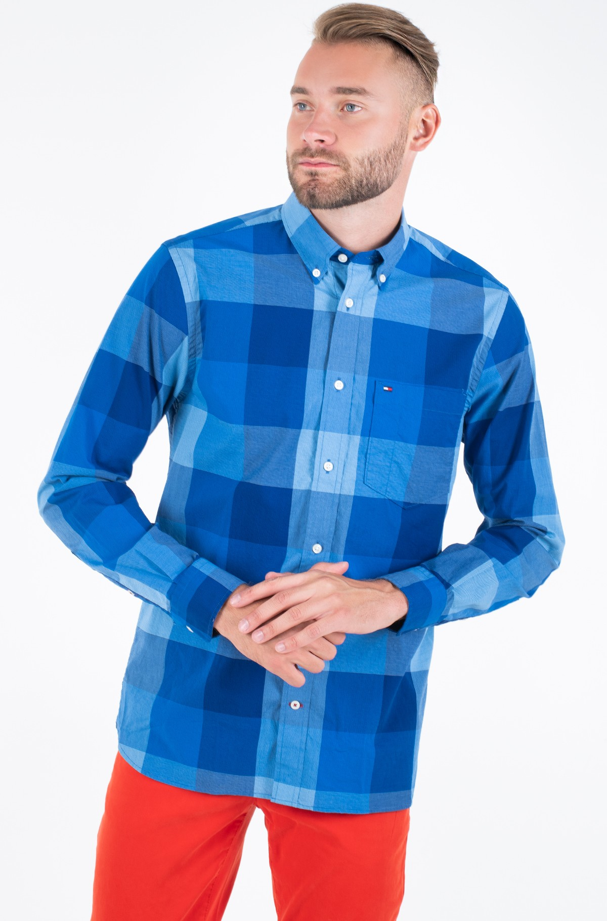 Shirt FLEX HOUNDSTOOTH CHECK SHIRT	-full-1