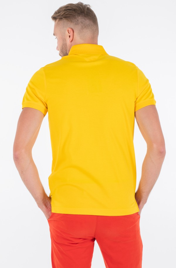 CREST CHEST SLIM POLO-hover