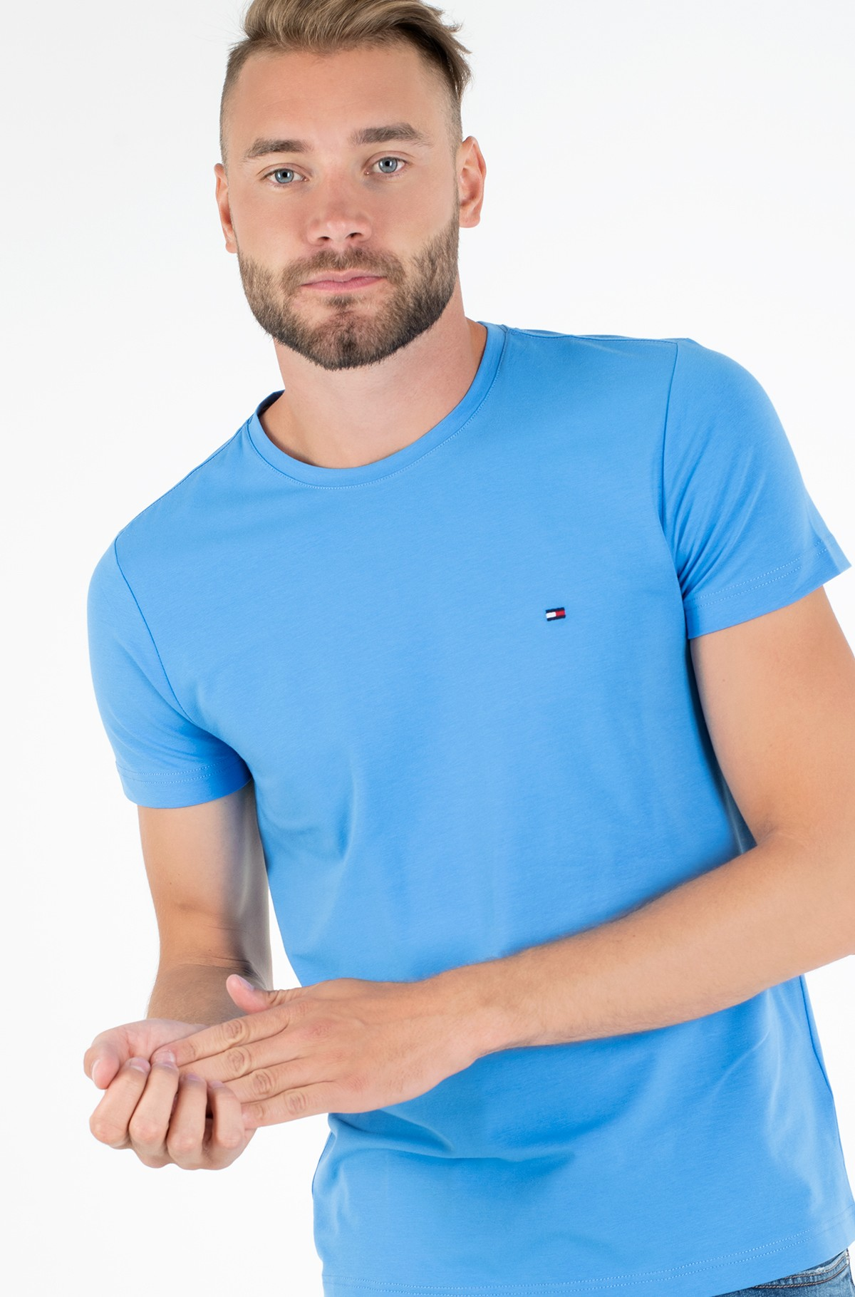 T-särk STRETCH SLIM FIT TEE-full-1