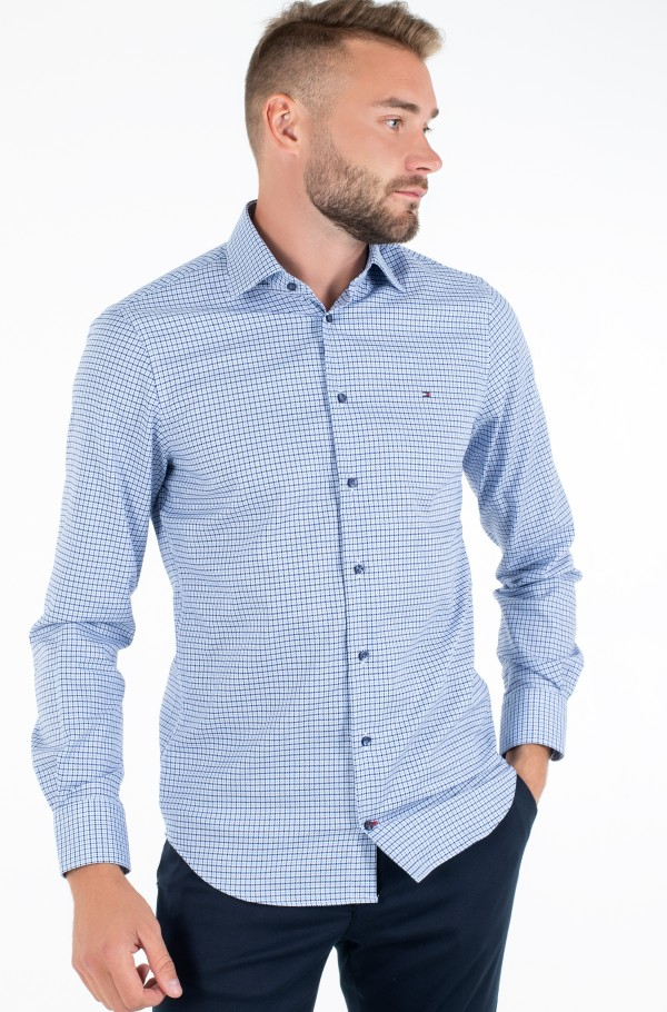 DOBBY HOUNDSTOOTH CLASSIC SHIRT