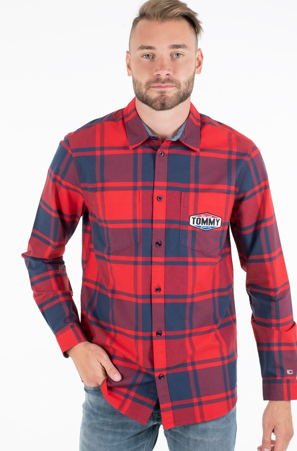 TJM OXFORD CHECK SHIRT