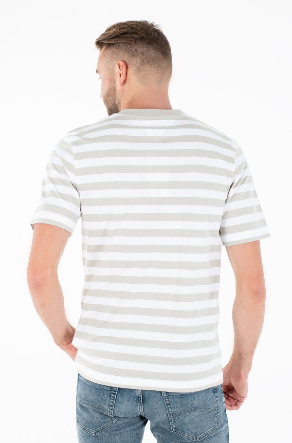 SIGNATURE STRIPE RELAXED FIT TEE-hover