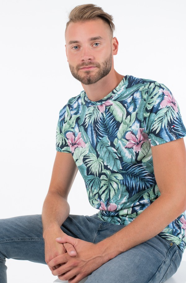ALL OVER FLOWER PRINT TEE