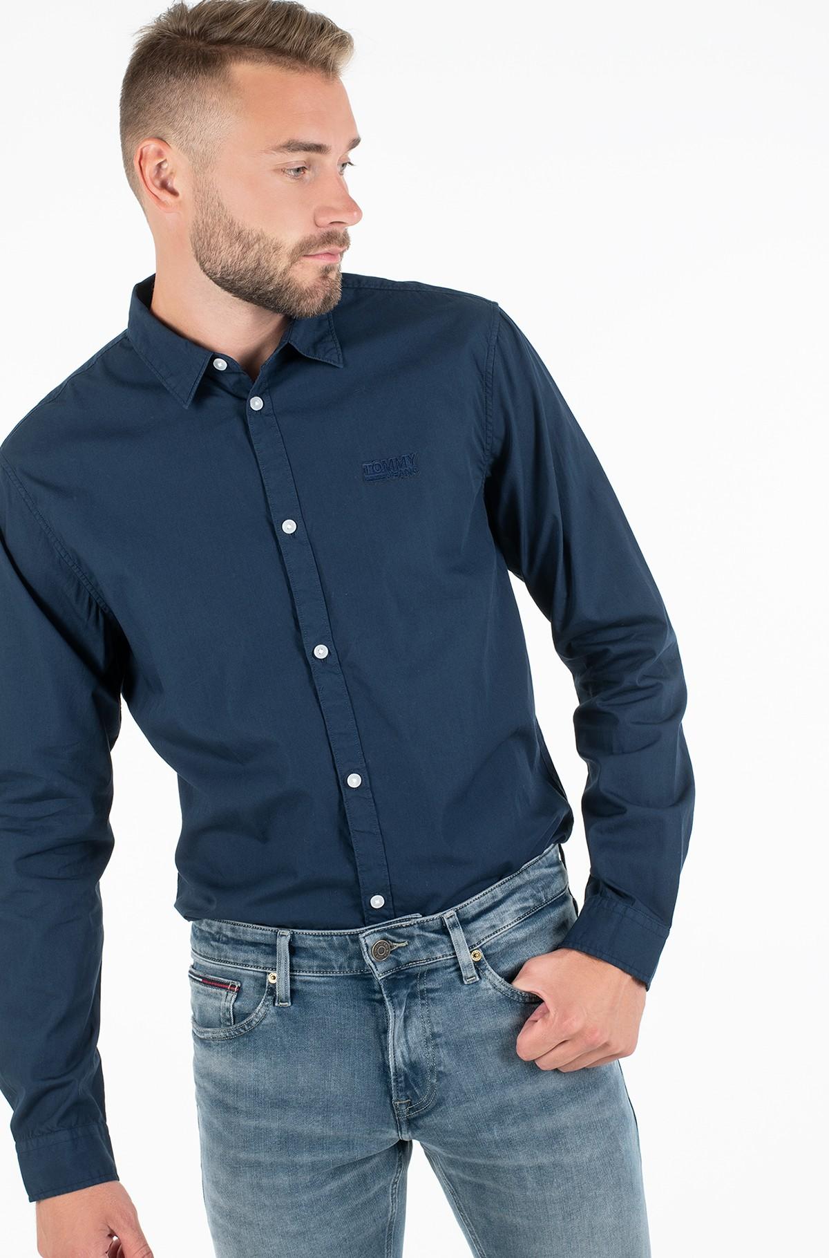 Shirt TJM POPLIN LOGO SHIRT-full-1