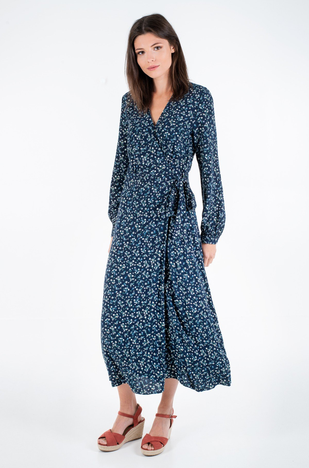 Hõlmikkleit RAYA WRAP DRESS LS-full-1