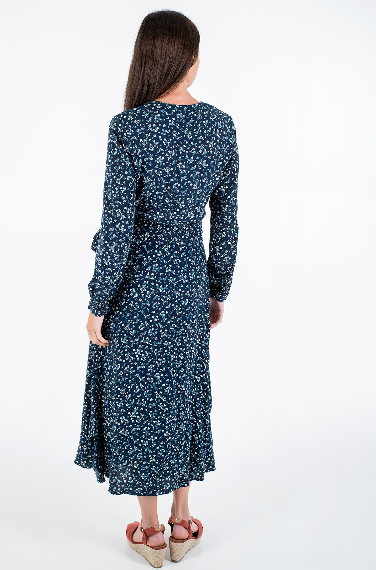 Hõlmikkleit RAYA WRAP DRESS LS-full-3