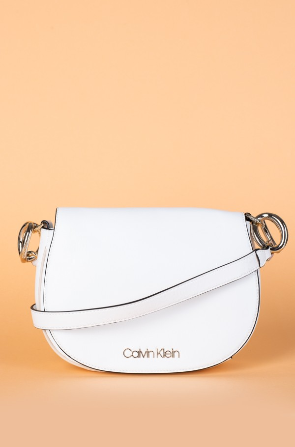 CK CHAIN SADDLE BAG-hover
