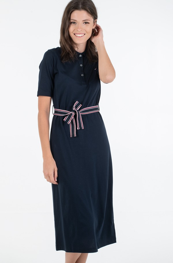 BRENNA REG POLO DRESS 1/2 SLV