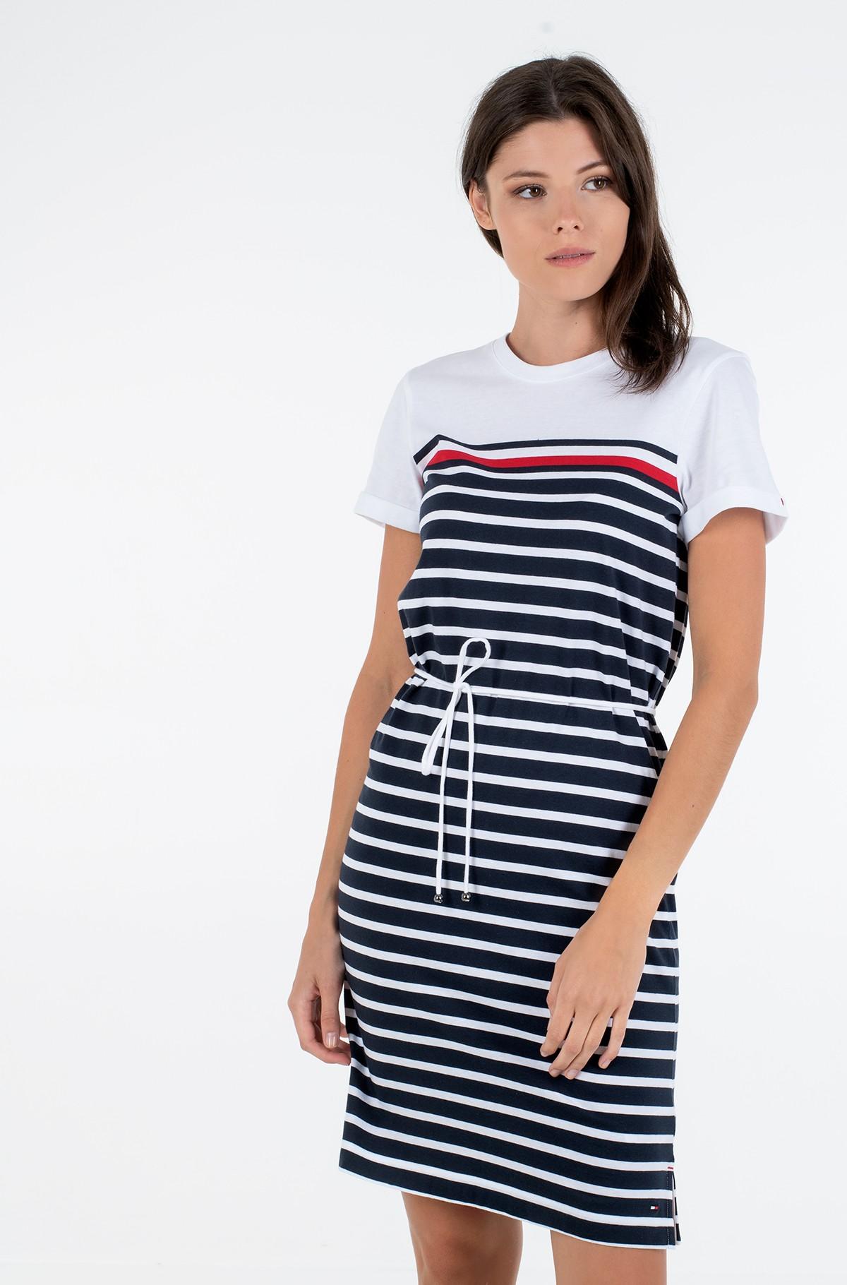 Marškinių tipo suknelė BALOU REGULAR C-NK DRESS SS-full-1