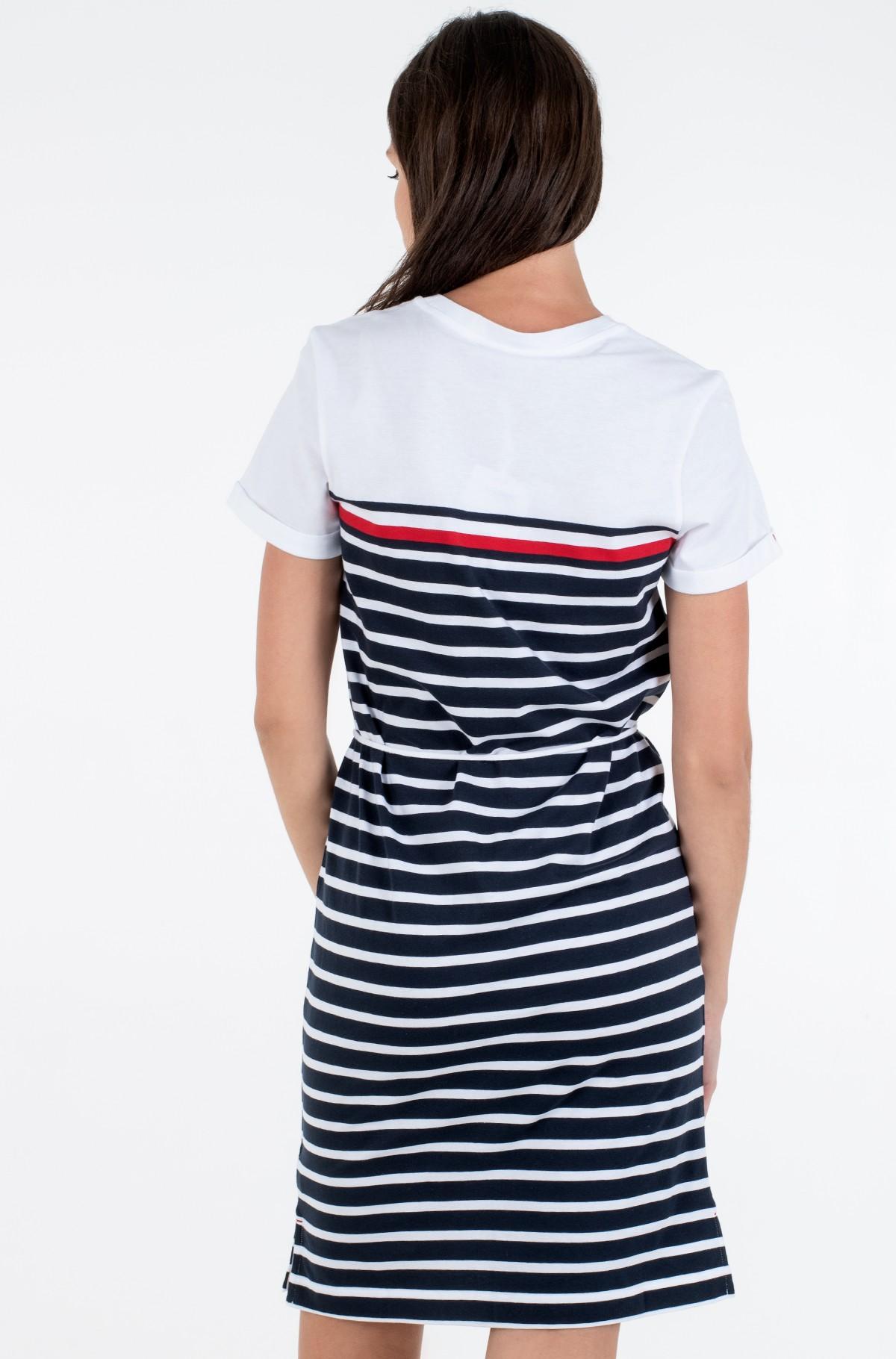 Marškinių tipo suknelė BALOU REGULAR C-NK DRESS SS-full-2