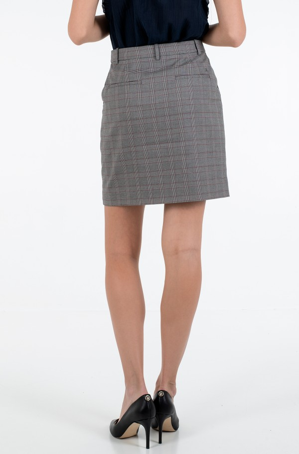 Y/D POW CHECK MINI SKIRT-hover