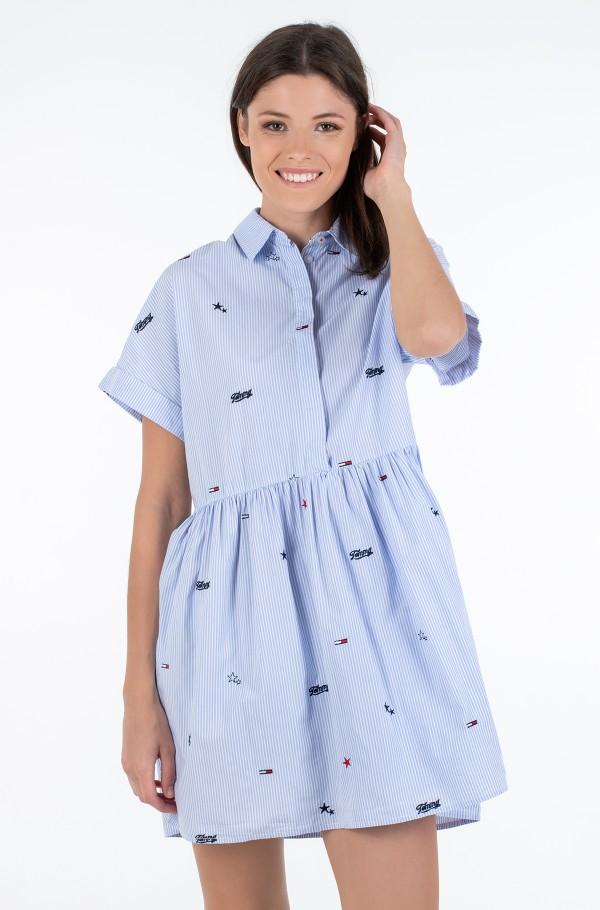 TJW CRITTER DROP WAIST DRESS